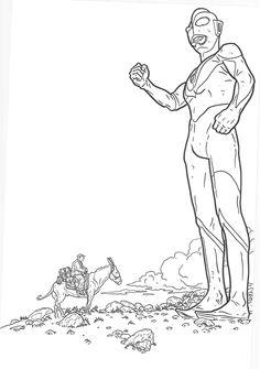 Ultraman Vs Shaolin Cowboy By Geof Darrow DarrowColoring BooksComic