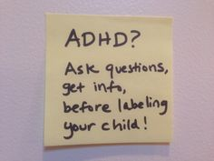 30 Second Mom - Ayana Rose: ADHD? Signs that a Child May Have a Hyper Activity Disorder