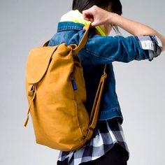 Baggu > Canvas Backpack Nutmeg at New High (M)art