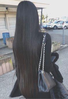 Virgin hair Straight Jesvia hair Straight hair do you like it? very long hair.Jesvia hair Straight hair do you like it? very long hair. Indian Hair Highlights, Haircuts For Long Hair Straight, Long Indian Hair, Long Brunette, Long Dark Hair, Long Straight Black Hair, Virgin Hair Extensions, Long Hair Extensions, Super Long Hair