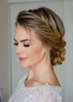 34 beautiful braided wedding hairstyles for the modern bride - TANIA MARAS | bespoke wedding headpieces + wedding veils
