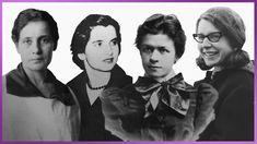 Lise Meitner, Rosalind Franklin, Mileva Einstein et Jocelyn Bell