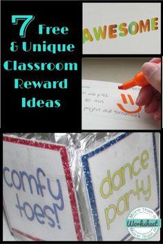 Classroom Rewards…fr
