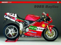 The 2003 MY Ducati 998S Bayliss Replica is inspired from the machine used by Troy Bayliss to win the World Superbike title. Unlike th...