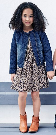 ALALOSHA: VOGUE ENFANTS: For a stylish and sleek look get inspired by this NEXT FW15 denim collection