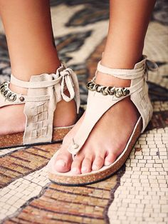 FP Collection Collins Footbed at Free People Clothing Boutique