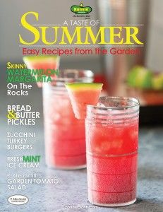 Bonnie Plants - A Taste Of Summer (Digital Recipe Booklet)  7 tasty, creative ways to bring your summer harvest from garden to table...