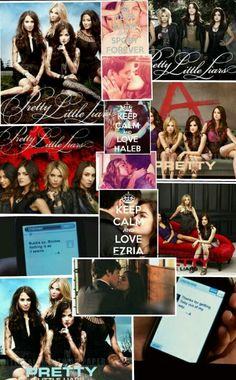 Pretty little liars collage