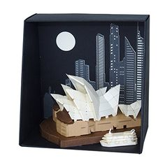 Paper Nano Sydney Opera House Building Kit >>> You can find out more details at the link of the image.