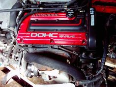 91-94 JDM 4G63-T COMPLETE CYCLONE ENGINE WITH TURBO, CUT HARNESS