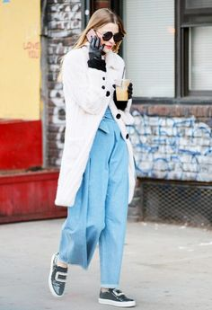 How Jaime King Makes a Jumpsuit Winter-Ready | WhoWhatWear