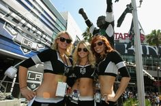The Ice Crew prepares for the Stanley Cup Final game at STAPLES Center