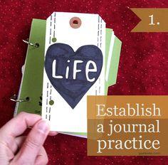 'Establish a Journal Practice...!' (via Making This Home)