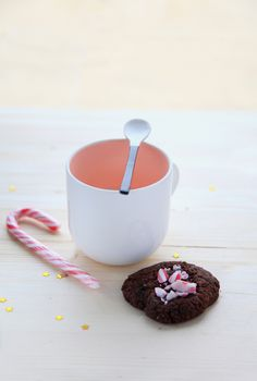 {6} Cookies de Noel, chocolat et fleur de sel   http://www.griottes.fr/6-cookies