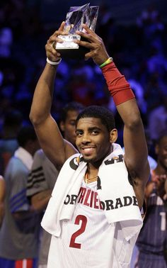 Kyrie Irving wins MVP in Rising Stars Challenge
