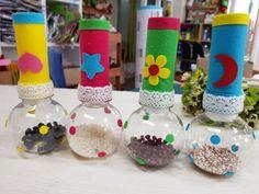 곡식마라카스#마라카스만들기#펠트교구#펠트딸랑이#악기만들기 : 네이버 블로그 Infant Toddler Classroom, Sensory Art, Felt Baby, Recycled Materials, Children, Kids, Art Projects, Diy And Crafts, Recycling