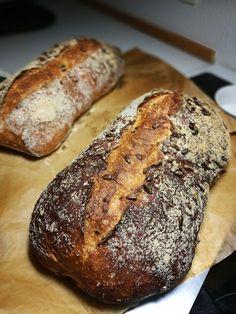 Danish Food, Bread Recipes, Danish Recipes, Protein, Deserts, Flat, Bass, Bakery Recipes, Postres
