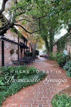 18 Thomasville Restaurants with Big City Epicurean Delights Vacation Destinations, Vacation Ideas, Best Seafood Restaurant, Mountain Landscape, Summer Travel, Where To Go, Places To See, Thomasville Georgia, Cities
