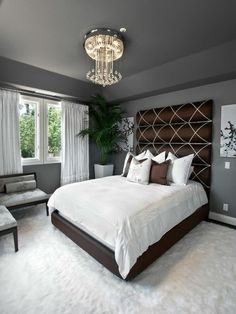 Dark Gray Wall Color 45 beautiful paint color ideas for master bedroom | master bedroom