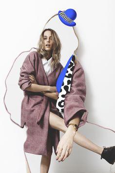 trendy Ideas for fashion magazine collage editorial Fashion Collage, Fashion Art, Trendy Fashion, Fashion Design, Fashion Portraits, High Fashion, Fashion Ideas, Magazine Collage, Ideas Magazine