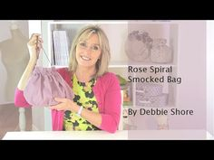A beautiful little purse for you to sew, using a template you've made to make life easier! Use this technique to decorate cushion covers and homewares, and t...