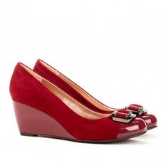 great red shoes...maybe if I click them together they will take me somewhere...not Kansas but somewhere...