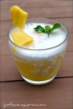 Virgin-Malibu-Pineapple Cocktail