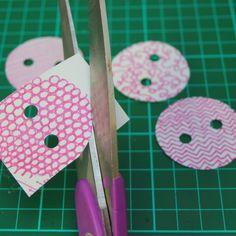 little button diaries shrink buttons tutorial 6