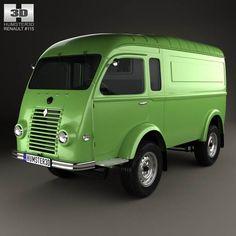 Renault Goelette (1400 kg) 1949 3d model from humster3d.com. Price: $75