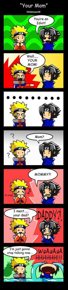 awwwww poor sasuke ...... you are an @#$