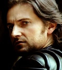 Guy of Gisborne with his beloved furrowed brow ilove this shot