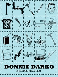 Iconic Film Posters: Telling stories in simplicity by Peter Stults // Donnie Darko