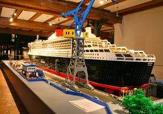 The Biggest Thing That Someone Made Out of Legos | Stats: 5,219 views / 1 comment