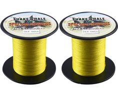 Shake Whale 100-Percent PE Good Quality Briad Fishing Line 10LB 800Yards Yellow 1Pcs 300Y and 500Y ** Check out this great product.