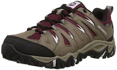 Merrell Women's Mojave Waterproof Hiking Shoe, Boulder/Red, 7 M US - Brought