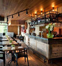 Gastropubs by Oakman Inns & Restaurants by People In Space UK Retail Design Pub Design, Coffee Shop Design, Retail Design, Brewery Design, Pub Interior, Bar Interior Design, Restaurant Interior Design, Deco Restaurant, Rustic Restaurant