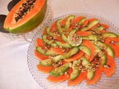 Cocinando con Lola García: Ensalada de papaya, aguacate y nueces