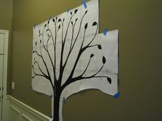 The Joy of Being a Mom and of Being Me: Family Tree Wall - A Vision Realized