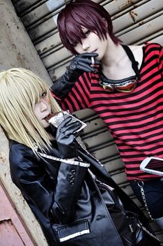 "Keehl Mihael ""Mello"" & Mail Jeevas ""Matt"" | Death Note #cosplay #anime #manga"