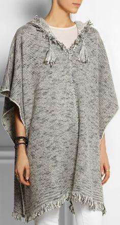 ISABEL MARANT Dexton knitted poncho