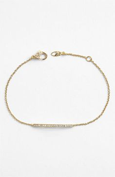 Love this simple bar bracelet. I have it in gold and silver. Nadri Bar Station Bracelet (Nordstrom Exclusive) | Nordstrom