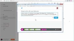 Video : How to use RiteTag to check the engagement on hashtags in Feedly social publishing - rite.ly/j51H
