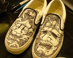 Shoe Drawings by Paolo Geronimo, via Behance