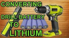 Cordless drill battery fix - YouTube