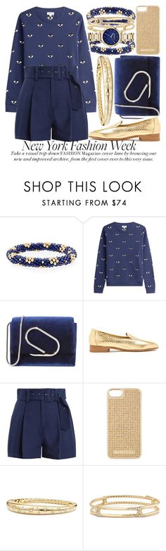 """WHAT TO WEAR TO NYFW #2"" by noraaaaaaaaa ❤ liked on Polyvore featuring Meredith Frederick, Kenzo, 3.1 Phillip Lim, The Row, Sea, New York, MICHAEL Michael Kors, David Yurman, Karl Lagerfeld and NYFW"