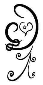 mother and child tattoo ~ have wanted something similar to this and I love that this has the infinity symbol included: visit today!