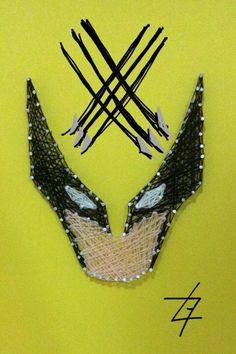 Logan - Wolverine - Criação Luno Gomes - String Art