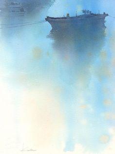 夜明け 水彩画 : はるさき水彩画                                                                                                                                                     もっと見る