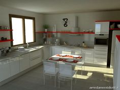 Cucina bianca lucida cucina bianca lucida