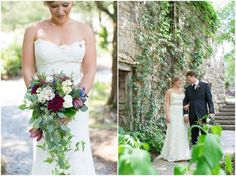 Mill at Fine Creek Cascading Bouquet. mill-at-fine-creek-virginia-wedding-photography-photo_0025